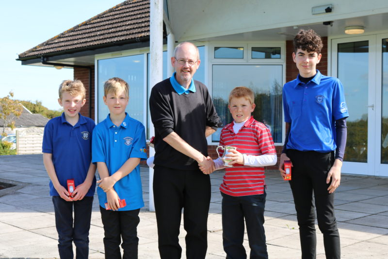 Junior club champs cubs tankard result Saturday 23rd September