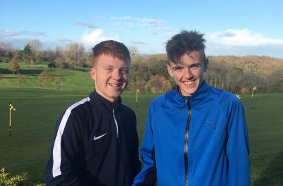 Charlie wins the junior 2017 knock-out final
