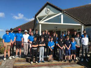 Somerset junior golf league at T&P